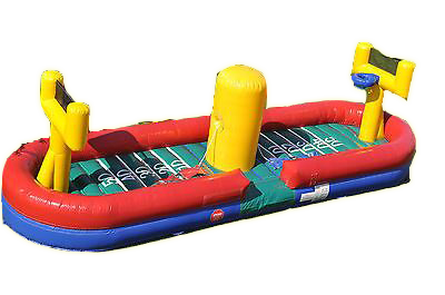 Inflatable bungee sports game